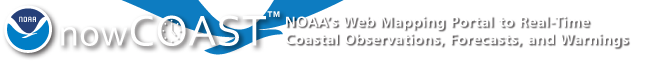 nowCOAST™: NOAA's Web Mapping Portal to Real-Time Coastal Observations, Forecasts, and Warnings
